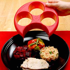 Portion Control Plate Prevents Overeating